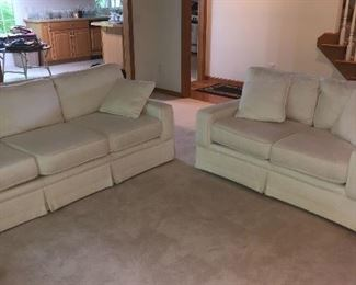 Beautiful Walker Furniture sofa and loveseat