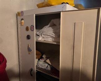 Vinatge metal cabinet