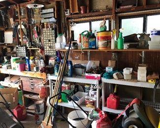 Lots to pick thru in garage!