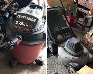 Craftsman Shopvac, vacuum