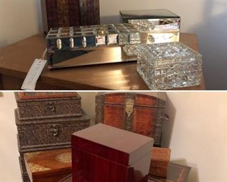 Newer jewelry boxes, excellent condition
