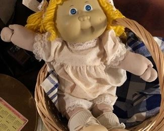 Original Cabbage Patch doll 80's