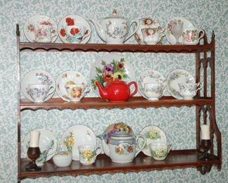 "2 Shelf decorative wooden bookcase, 31"" W x 10.5""D x 30"" H"