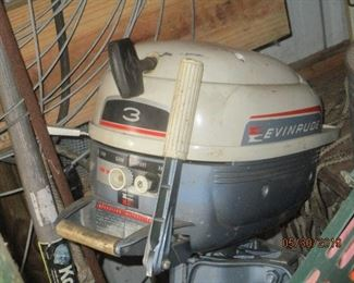 and the folding Evinrude with case