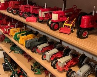 Amazing Toy Tractor Collection