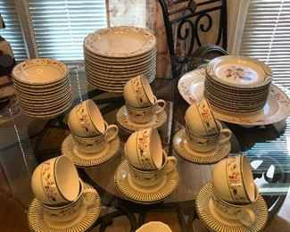 You need all these plates for when relatives visit to make them think you have your life together!