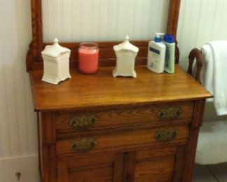 sm oak dresser