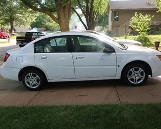 2004 Saturn Ion with 52k miles, single owner vehicle