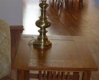 3 MATCHING END TABLES AND COFFEE TABLE
