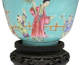 LOT #8008 - CHINESE REPUBLIC PERIOD PORCELAIN BOWL