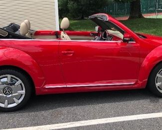 Hassle Free By Tracey! 2014 BEETLE CONVERTIBLE    starts on 7/9/2019