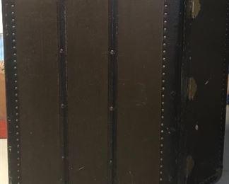 Antique Steamer Wardrobe Trunk