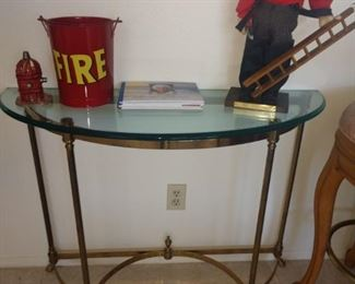 Sofa table with matching end table