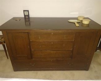 Great dresser OR buffet! Has a few Rustic Farmhouse look!