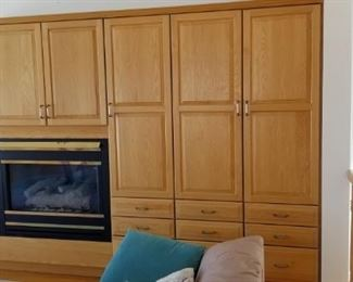 Even more custom cabinetry