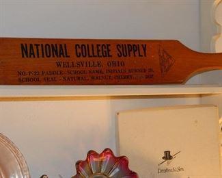 School paddle, advertising item