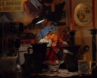 Gone with the Wind collector plate, posters, music boxes, books, figurines and even a GWTW Barbie!