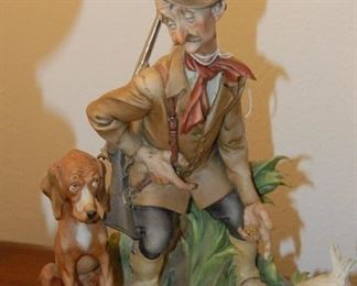 """Giuseppe Cappe figurine """"The Reluctant Hunter"""""""