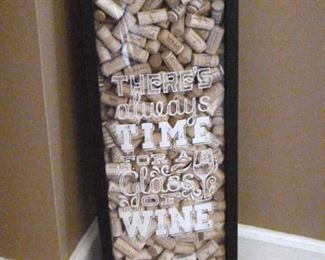 Wine-theme wall hanging