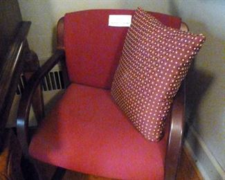 Two matching side chairs available