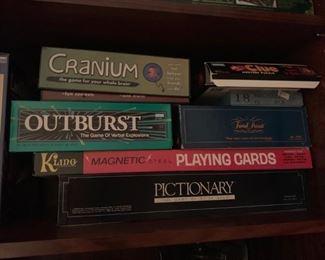 game night board games!