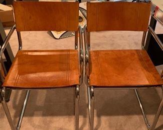 Custom leather seats (set of 4)