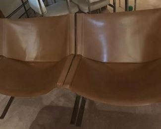 custom leather seating for 2