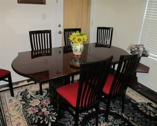 Mint condition dining room table