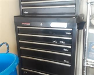 Stand Up Tool Box, top & bottom.