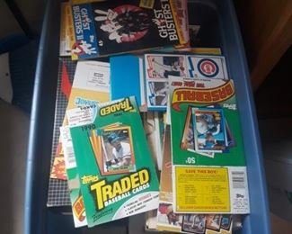Lots of baseball cards, please inquire if interested mostly 80's and 90's, still sorting on these. Available for presale.
