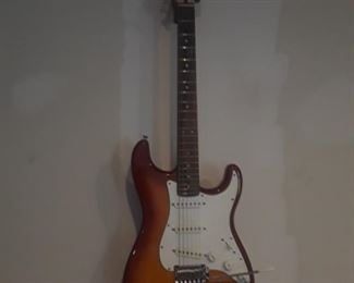 Stratocaster Electric Guitar.