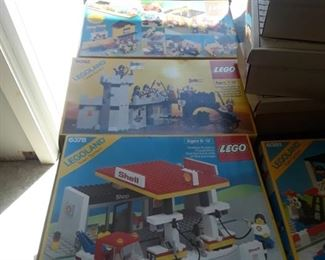 Lots of Lego Sets.