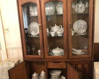 Dining china hutch