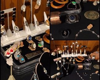 Amazing Antique to Vintage Jewelry!!!  Some of these rings are designed by Ostby Barton.
