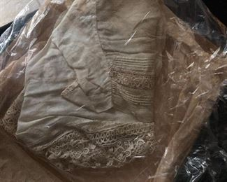 Antique lace top from someone' s great grandmother