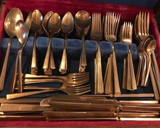 Dirilyte brass flatware