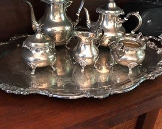 Sterling set Plate tray