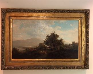 19 th C listed artist