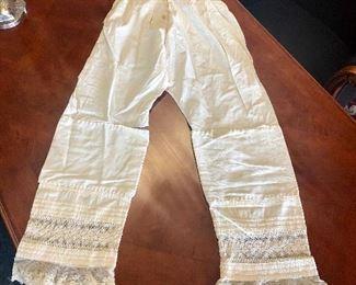 Vintage Linen Pantaloons