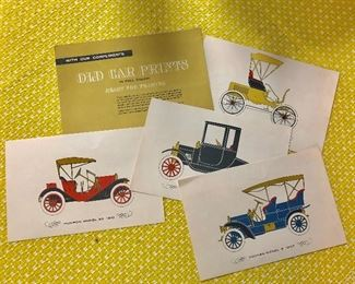 """ESSO"" Cleveland, TN, Old Car Prints"