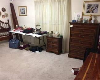 Lexington bedroom set, cedar chest
