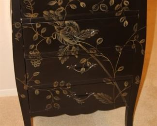 Four drawer decorative chest.