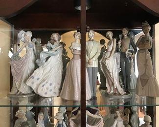 Women and Men Lladro figurines