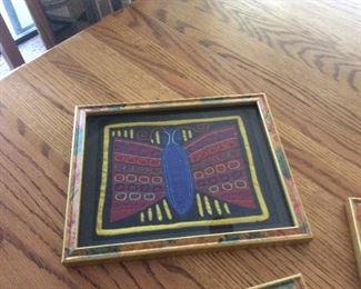Fabric art South America