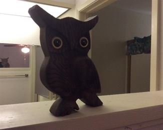 Wood owl 1970's