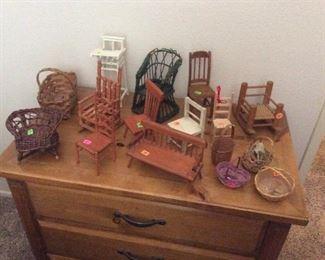 Miniature chairs