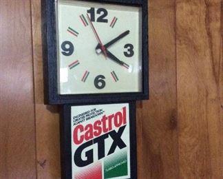 Vintage Castro's GTX Clock