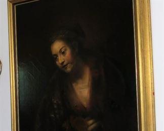 Rembrandt's Mistress. Metropolitan Museum of Art painting.