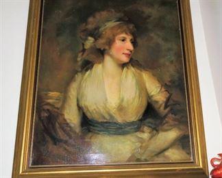 John Hoppner- Portrait of a Woman - Metropolitan museum of art painting.