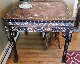 Antique Chinese game table